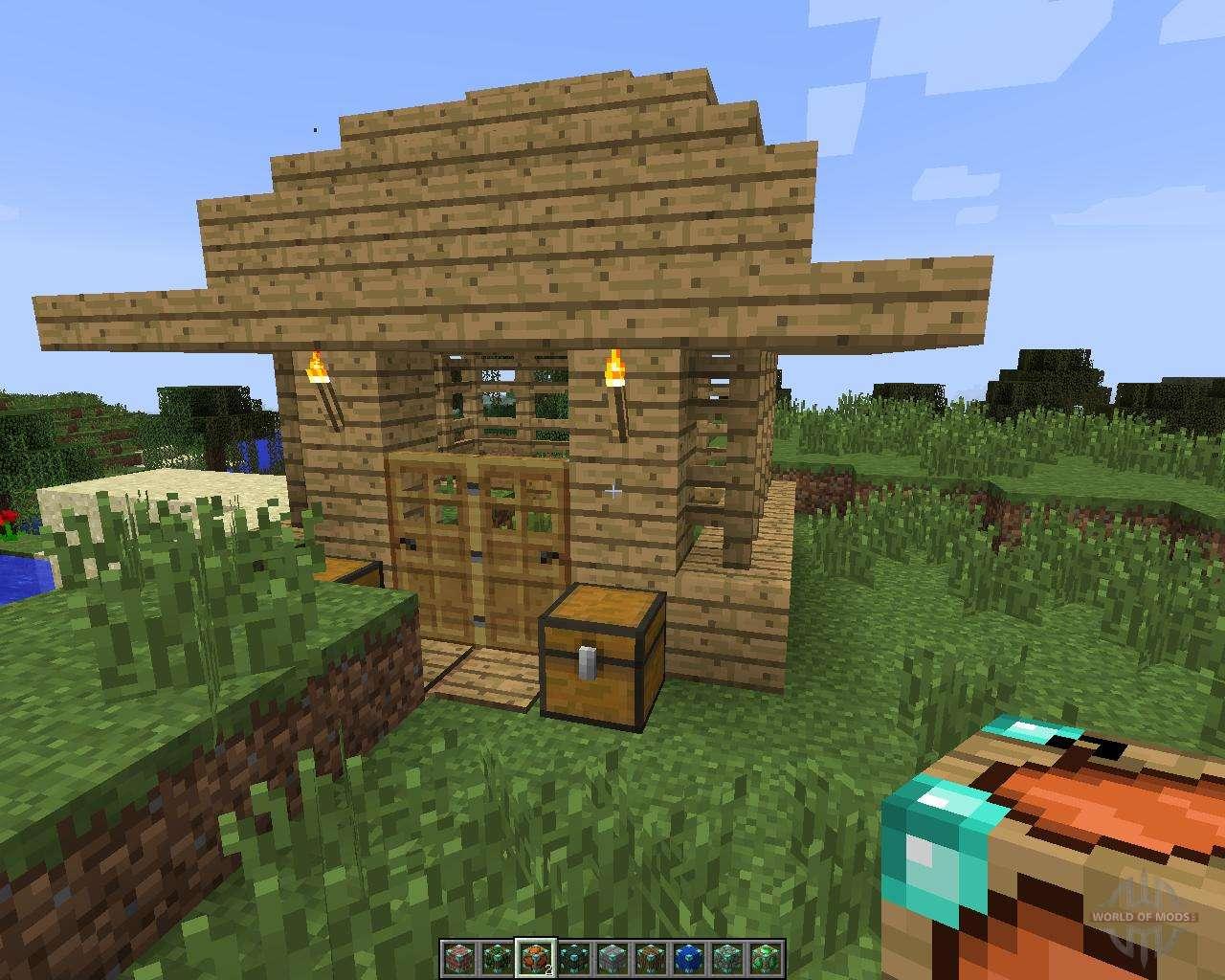 Insta House 1 7 2 Fur Minecraft