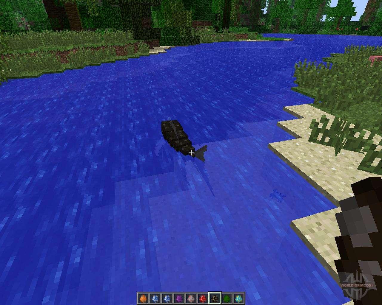 minecraft fishing mod