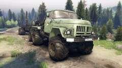 ЗиЛ-137-trailer melden für Spin Tires