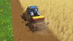 Bodenbearbeitung und Aussaat