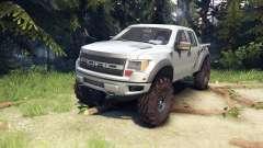 Ford Raptor SVT v1.2 factory ignot silver pour Spin Tires