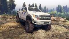 Ford Raptor SVT v1.2 factory pale adobe pour Spin Tires