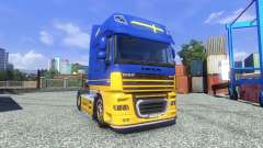Haut IKEA für DAF XF Sattelzug für Euro Truck Simulator 2