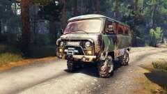 UAZ-2206 pour Spin Tires