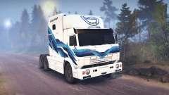 KamAZ-54112 RIAT für Spin Tires