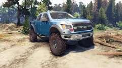 Ford Raptor SVT v1.2 factory blue flame für Spin Tires