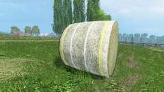 De nouvelles textures de balles de foin
