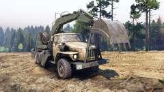 Ural-4320 avec les nouveaux chargeurs pour Spin Tires
