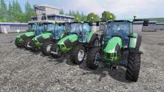 Deutz-Fahr 5110 TTV and 5130 TTV