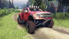 Ford Raptor Pre-Runner v1.1 terrible herbst für Spin Tires