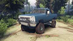 Dodge Ramcharger 1991 Open Top v1.1 light blue für Spin Tires