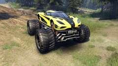 Koenigsegg One:1 Monster für Spin Tires