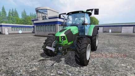 Deutz-Fahr 5110 TTV pour Farming Simulator 2015