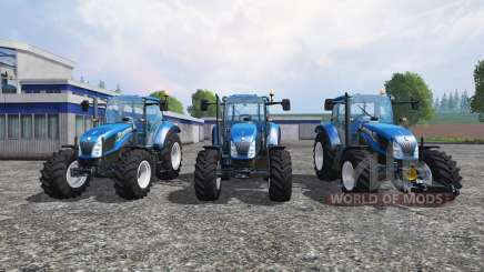 New Holland T5 [pack] pour Farming Simulator 2015