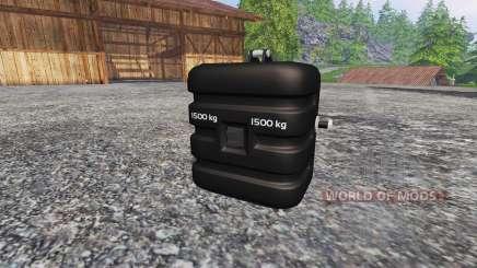 Deutz-Fahr 1500 v2.0 washable pour Farming Simulator 2015