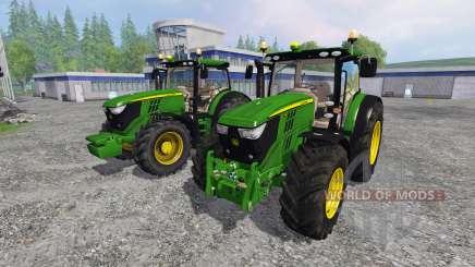 John Deere 6170R and 6210R v3.0 für Farming Simulator 2015