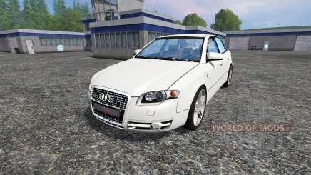Audi A4 (B7) Quattro 3.0 TDI pour Farming Simulator 2015