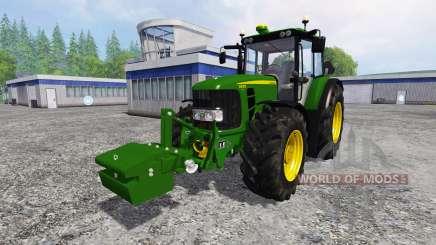John Deere 6930 Premium FL für Farming Simulator 2015