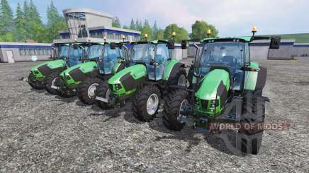 Deutz-Fahr 5110 TTV and 5130 TTV für Farming Simulator 2015