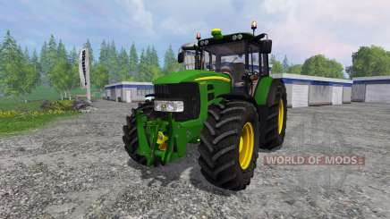 John Deere 7430 Premium v1.1 pour Farming Simulator 2015