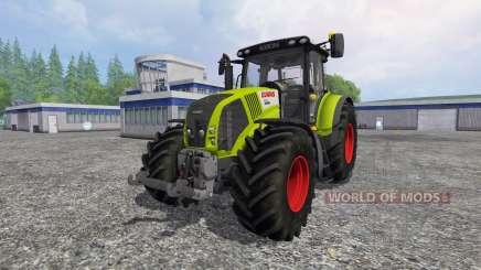 CLAAS Axion 850 v2.0 [washable] pour Farming Simulator 2015