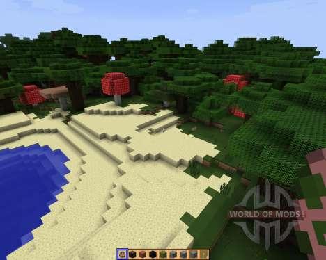 SimpleJCraft 3D [16x][1.8.1] pour Minecraft