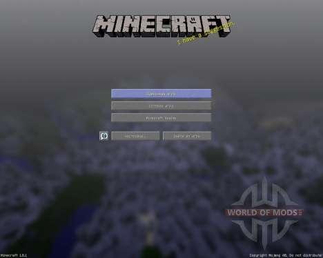 StarkCraft [16х][1.8.1] pour Minecraft