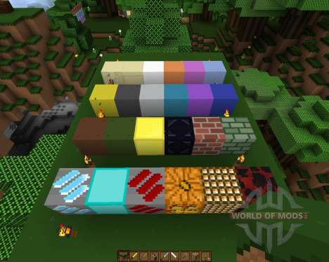 Movidacraft Simple Texture Pack [16x][1.8.1] pour Minecraft