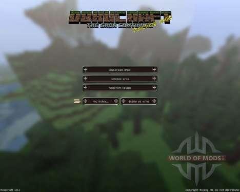 DokuCraft [32x][1.8.1] für Minecraft