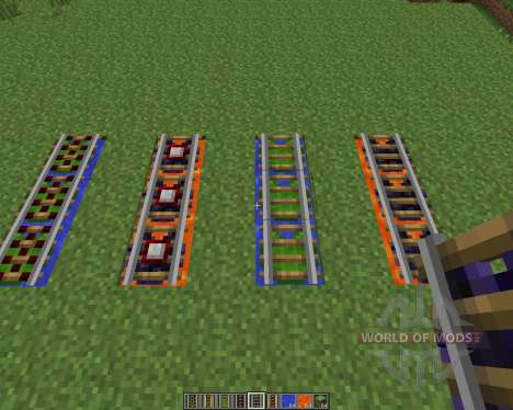 Floating Rails [1.7.2] pour Minecraft