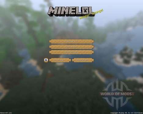 MineLoL Realistic [64x][1.8.1] für Minecraft
