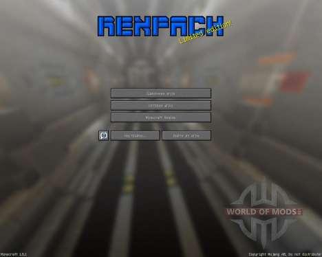 REX PACK [32х][1.8.1] für Minecraft