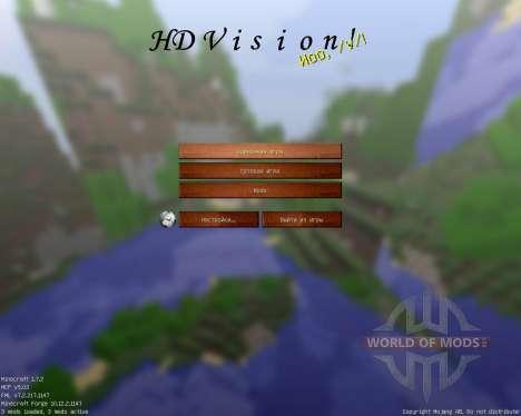 HD Vision [128x][1.7.2] pour Minecraft