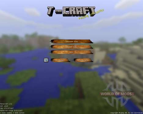 T-Craft Realistic [64x][1.7.2] pour Minecraft