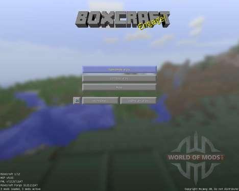 Box Craft [16x][1.7.2] pour Minecraft