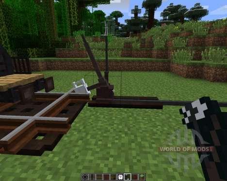 Rails of War Mod [1.6.2] pour Minecraft
