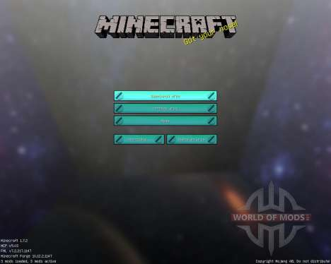 Astro Craft [32x][1.7.2] für Minecraft
