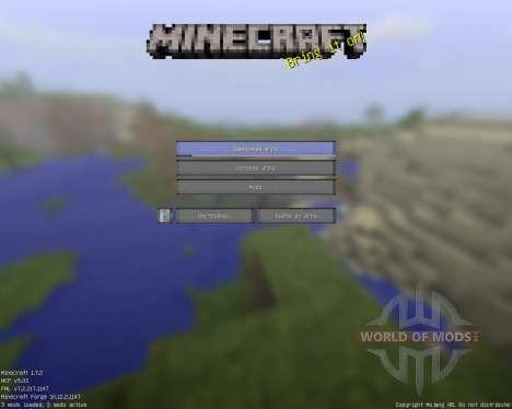 4х4 pack [4x][1.7.2] für Minecraft
