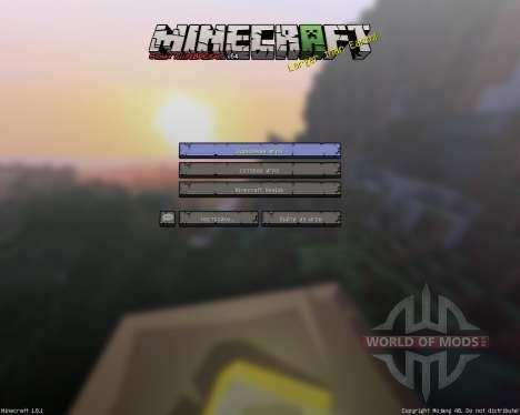 Sphax PureBDCraft [256х][64х][1.8.1] pour Minecraft