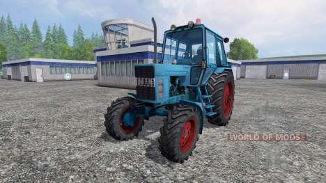 MTZ-82 ROYAUME-UNI pour Farming Simulator 2015