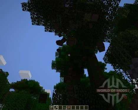 Whole Tree Axe [1.6.2] für Minecraft