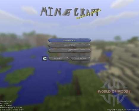 Cartoony [32x][1.7.2] für Minecraft