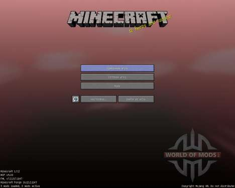 ShadowCraft [16x][1.7.2] pour Minecraft