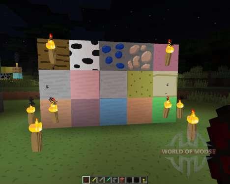 Il suffit de Dessiner [128х][1.8.1] pour Minecraft