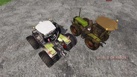 CLAAS Xerion 3800 Trac VC [clean and dirty] pour Farming Simulator 2015
