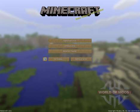 AvienCraft Reborn [16х][1.8.1] pour Minecraft