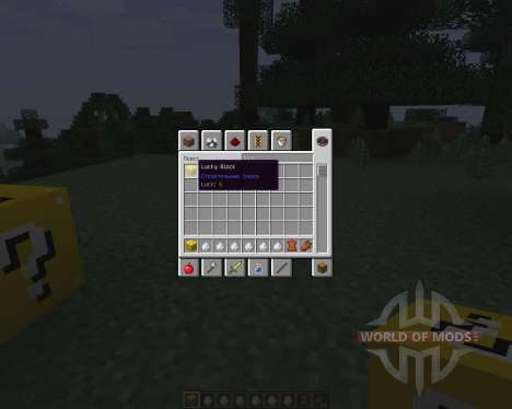 Lucky Block [1.7.2] pour Minecraft