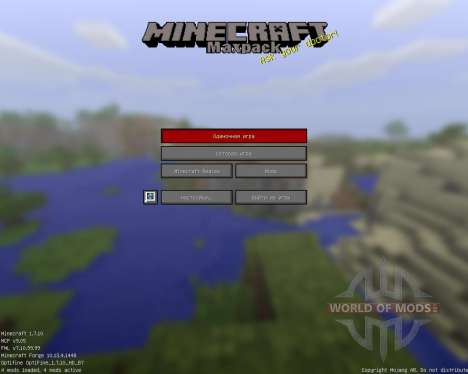 Maxpack Legacy [16x][1.7.10] pour Minecraft