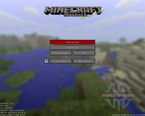 Maxpack Legacy [16x][1.7.10] für Minecraft