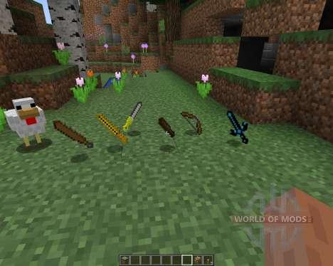 Ancient Swords [16x][1.8.1] pour Minecraft